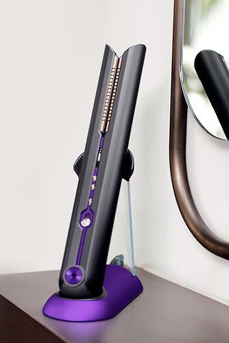 Выпрямитель для волос Dyson Corrale HS03 PRO Черный-Пурпурный (16)