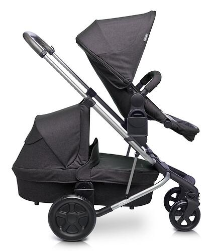 Коляска прогулочная Easywalker Harvey² Night Black Platinum Edition (16)