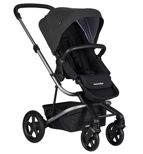 Коляска прогулочная Easywalker Harvey² Night Black Platinum Edition (11)
