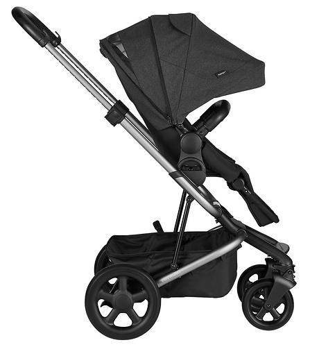 Коляска прогулочная Easywalker Harvey² Night Black Platinum Edition (13)