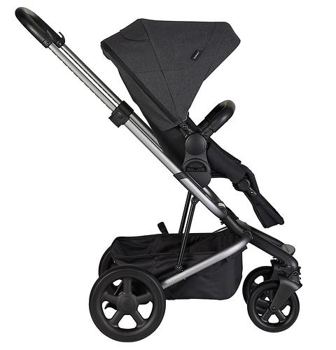 Коляска прогулочная Easywalker Harvey² Night Black Platinum Edition (12)
