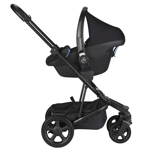 Коляска прогулочная Easywalker Harvey² Night Black Platinum Edition (14)