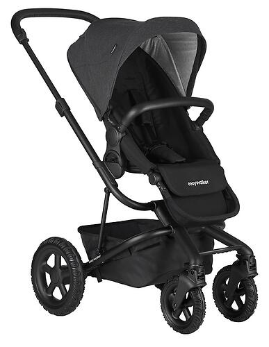 Коляска прогулочная Easywalker Harvey² All Terrain Night Black (8)