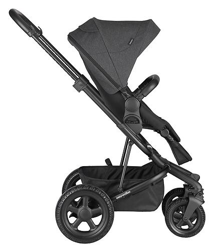 Коляска прогулочная Easywalker Harvey² All Terrain Night Black (9)
