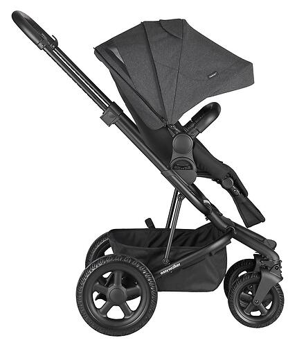Коляска прогулочная Easywalker Harvey² All Terrain Night Black (10)
