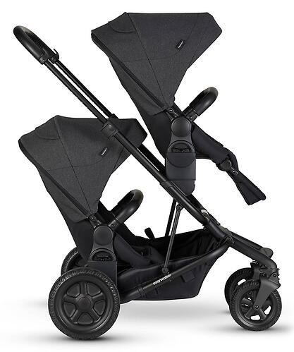 Коляска прогулочная Easywalker Harvey² All Terrain Night Black (11)