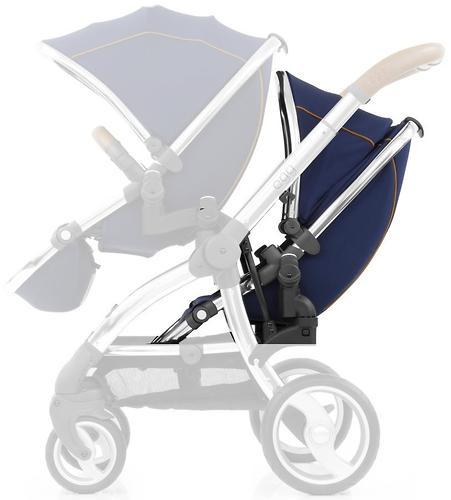 Прогулочный блок для второго ребенка Egg Tandem Seat Regal Navy - Mirror Chassis (4)