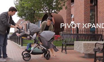 Коляска для двойни и погодок Evenflo Pivot Xpand