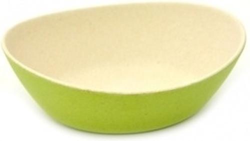 Миска 15 см / 400 мл зеленая (бамбуковое волокно) 7184 (1)