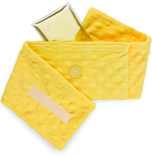 Антиколиковая гелевая грелка с чехлом Happy Baby Fusion Care Yellow (3)