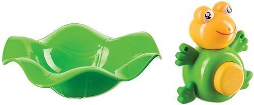 Прорезыватель-лягушка и ковш Happy Baby Funny frog (5)