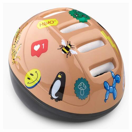 Шлем защитный Happy Baby STONEHEAD size S Sand (11)
