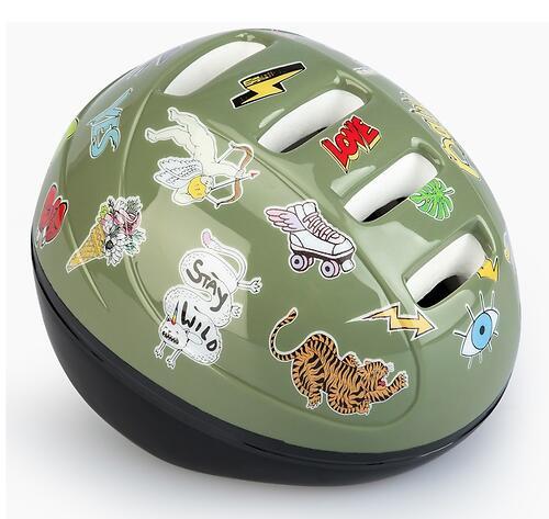 Шлем защитный Happy Baby STONEHEAD size S Grass (7)