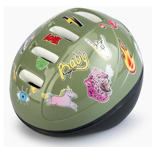 Шлем защитный Happy Baby STONEHEAD size S Grass (8)