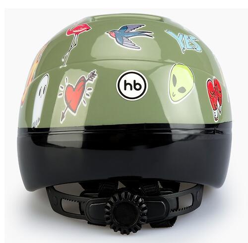 Шлем защитный Happy Baby STONEHEAD size S Grass (9)