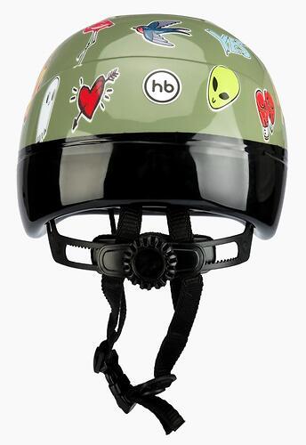 Шлем защитный Happy Baby STONEHEAD size S Grass (10)