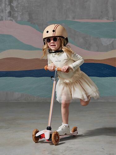 Шлем защитный Happy Baby DRIFTER 50018 Beige (16)