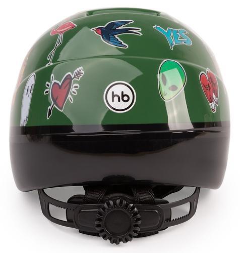 Шлем защитный Happy Baby STONEHEAD Green (6)