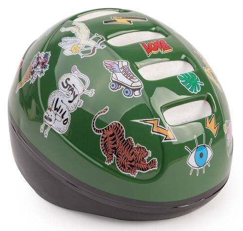 Шлем защитный Happy Baby STONEHEAD Green (5)
