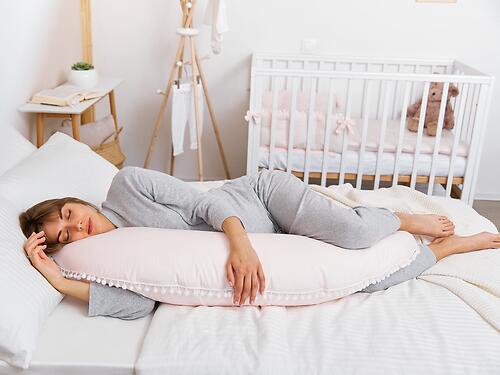 Подушка для беременных Happy Baby 87532 Pink (11)