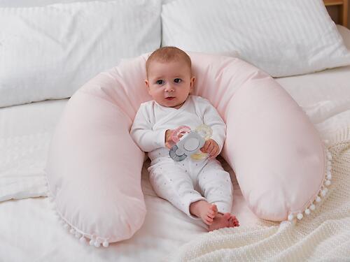 Подушка для беременных Happy Baby 87532 Pink (13)