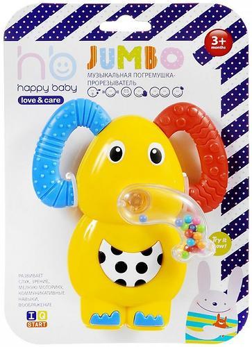 Музыкальная погремушка-прорезыватель Happy Baby Jumbo (4)