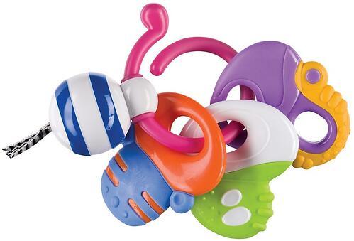 Погремушка-прорезыватель Happy Baby Keys of fun (3)