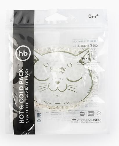 Грелка Happy Baby с гелевым наполнителем Hot and Cold Pack Olive (5)