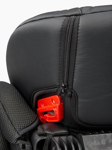 Автокресло Happy Baby Mustang Jet Black (18)