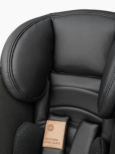 Автокресло Happy Baby Mustang Jet Black (16)
