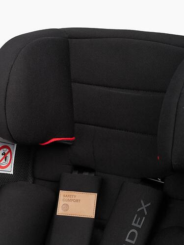 Автокресло Happy Baby Sandex Jet Black (14)