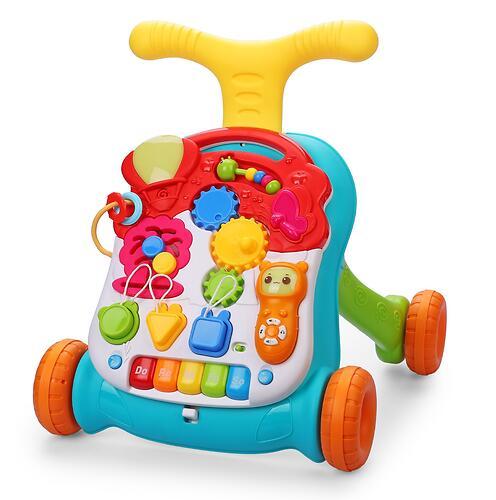 Каталка-ходунки Happy Baby с развивающим центром SPRINTER (8)