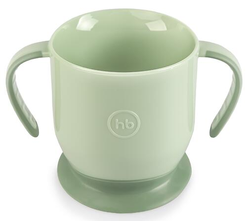Кружка Happy Baby на присоске Baby Cup With Suction Base 15022 Olive (3)