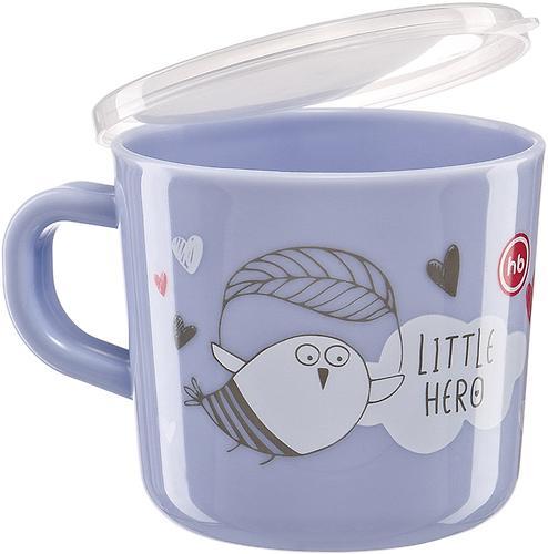 Кружка с ручкой и крышкой Happy Baby Training Cup Ruby (5)