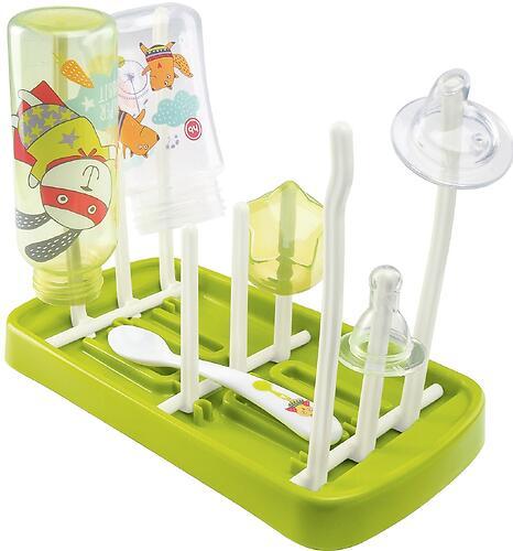Сушка для бутылочек и аксессуаров Happy Baby Foldable Drying Rack Grass (6)