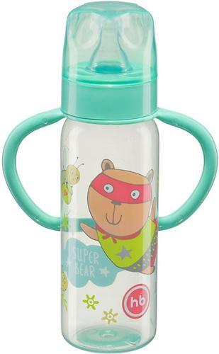 Бутылочка Happy Baby Baby Bottle с ручками и силиконовой соской мятный 10007 (3)
