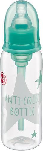 Бутылочка Happy Baby Baby антиколиковая с силиконовой соской 250мл 10015 Mint (4)