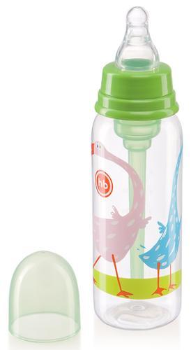 Бутылочка Happy Baby Baby антиколиковая с силиконовой соской 250мл 10015 Grass (6)
