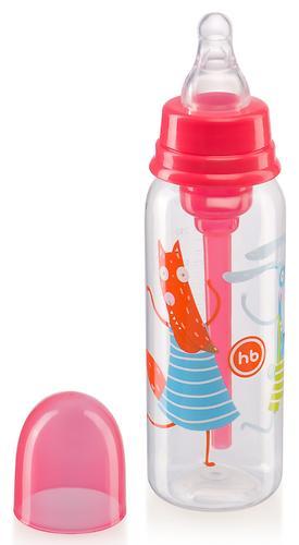 Бутылочка Happy Baby Baby антиколиковая с силиконовой соской 250мл 10015 Ruby (6)