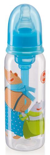 Бутылочка Happy Baby Baby антиколиковая с силиконовой соской 250мл 10015 Sky (5)