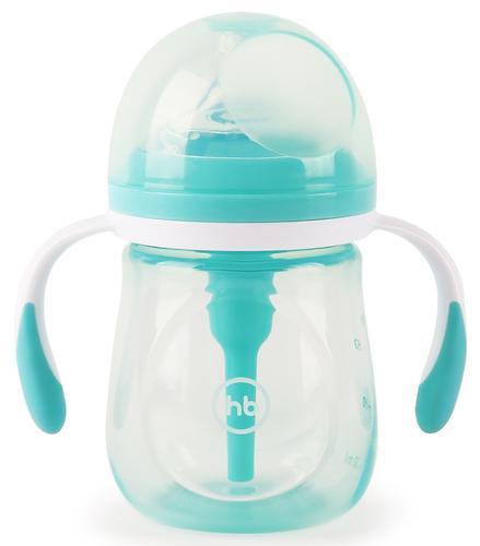 Бутылочка Happy Baby Anti-Colic Baby Bottle антиколиковая с ручками и силиконовой соской 180 мл Mint (4)