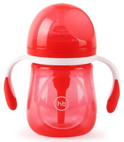 Бутылочка Happy Baby Anti-Colic Baby Bottle антиколиковая с ручками и силиконовой соской 180 мл Ruby (4)