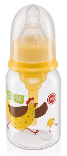 Бутылочка Happy Baby антиколиковая с силиконовой соской медл. поток 120 мл Lemon (5)