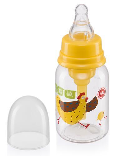Бутылочка Happy Baby антиколиковая с силиконовой соской медл. поток 120 мл Lemon (6)