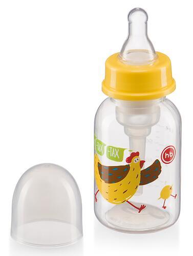 Бутылочка Happy Baby антиколиковая с силиконовой соской медл. поток 120 мл Lemon (7)