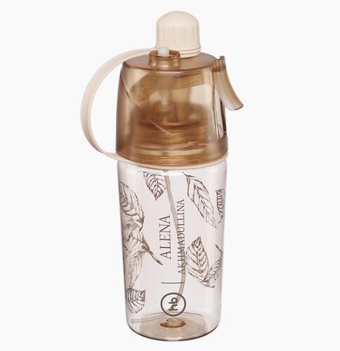 Бутылочка Happy Baby для воды с распылителем by AA 10024 Beige (3)