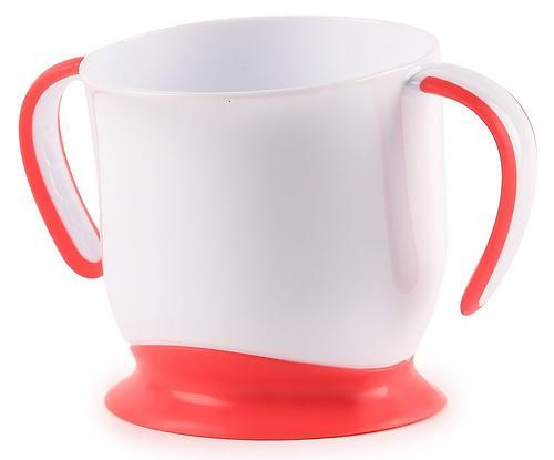 Кружка Happy Baby на присоске Baby cup with suction base Ruby (4)
