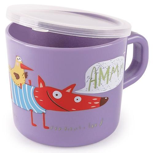 Кружка с ручкой и крышкой Happy Baby Training Cup Lavender (4)