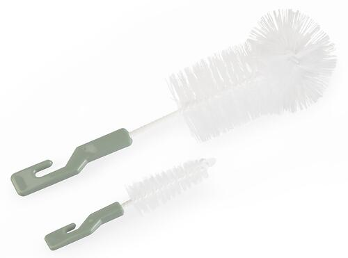 Ершик Happy Baby для бутылочек и сосок BOTTLE AND NIPPLE BRUSH 11001 Olive (3)