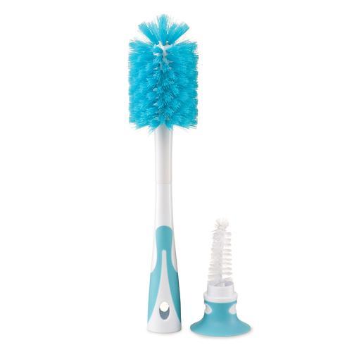 Набор ёршиков для бутылочек и сосок Happy Baby Bottle & Nipple Brush 2 in 1 Blue (6)